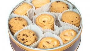 Puszka z ciastkami, fot. S1001