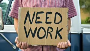 Bezrobotny poszukujący pracy, fot. Sharon Day