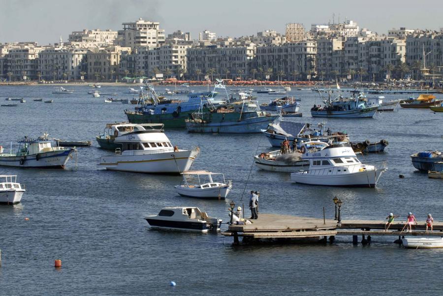 Aleksandria, portowe miasto Egiptu. Fot. Bloomberg