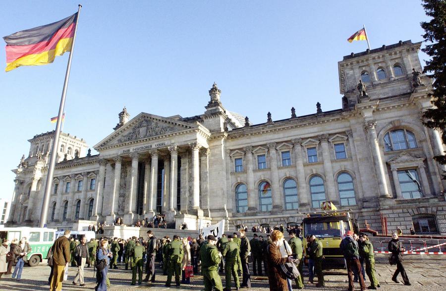 Siedziba Bundestagu. Fot. Bloomberg