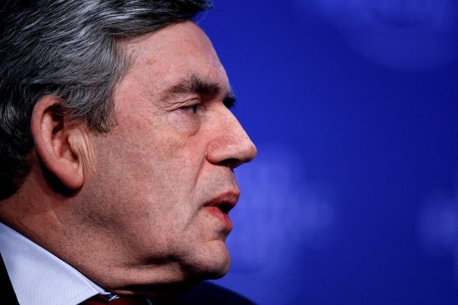 Gordon Brown, premier Wielkiej Brytanii