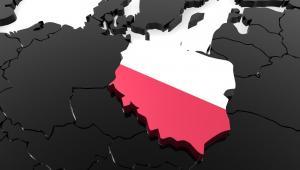 Polska, mapa Europy Fot. Shuttestock