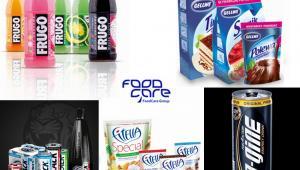 Marki firmy FoodCare: Frugo, Gellwe, Fitella, N-Gine, Black. Fot. materiały Foodcare