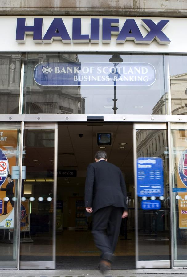 Halifax Bank of Scotland. fot. Bloomberg