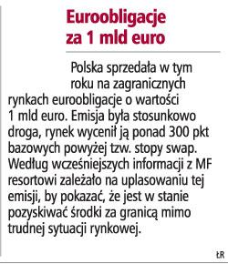 Euroobligacje za 1 mld euro