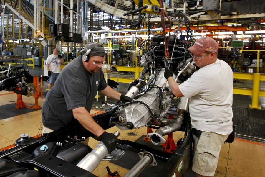 Fabryka Forda w stanie Michigan, fot. Bloomberg