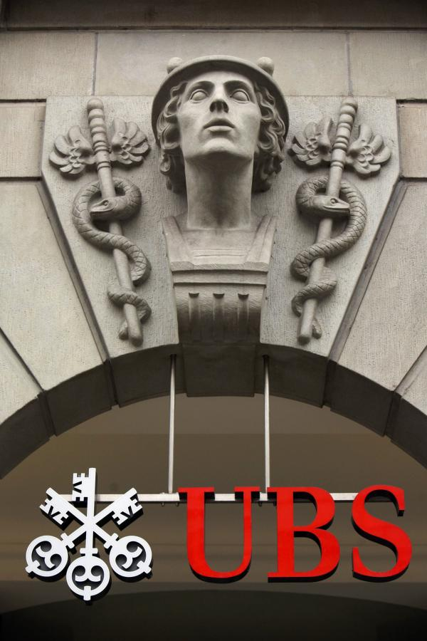 Wszystko zaczęło się od banku UBS...Fot.Bloomberg