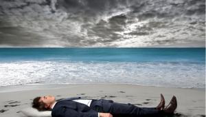 Inwestor na wakacjach Fot. Shutterstock