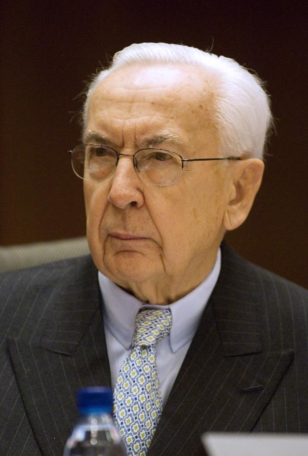 Jacques de Larosiere. Fot. Bloomberg