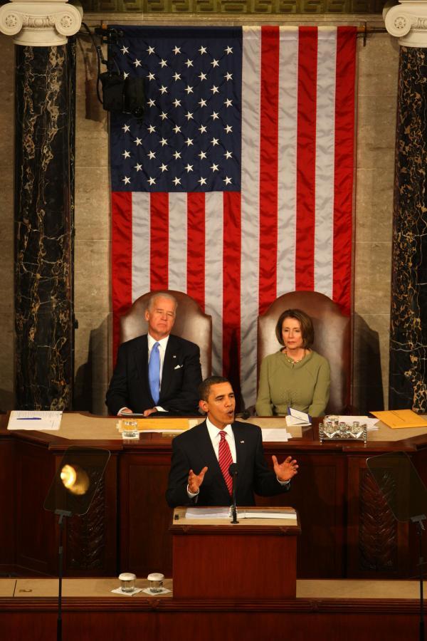 Przemówienie prezydenta USA Baracka Obamy przed Kongresem