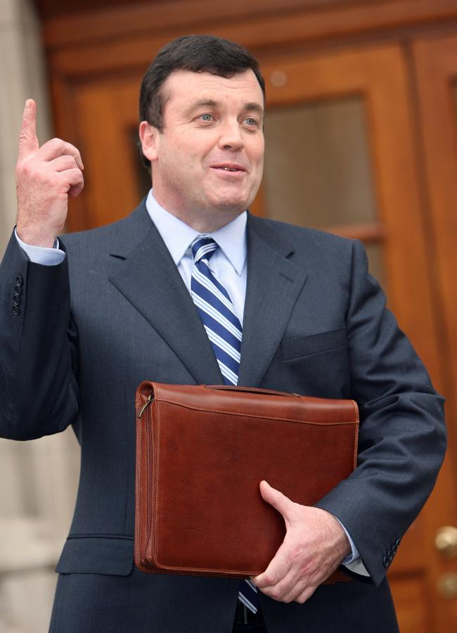 Brian Lenihan, minister finansów Irlandii