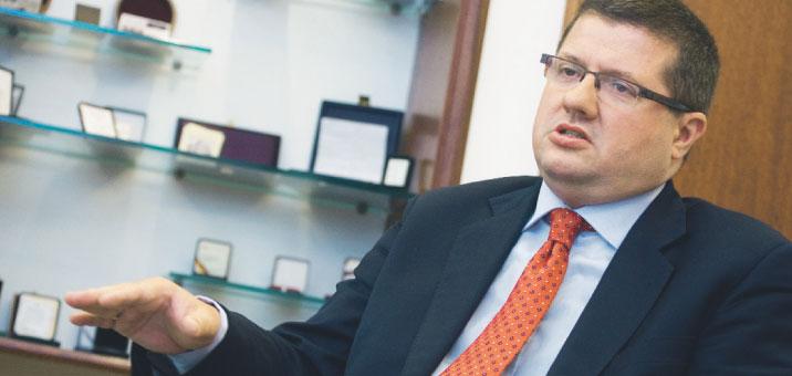 Narodowy Bank Polski, na czele którego stoi Sławomir Skrzypek, przedstawił raport o euro Fot. Wojciech Górski