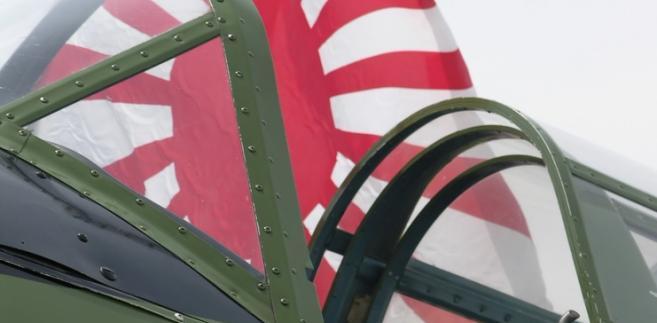 Kokpit japońskiego myśliwca Zero, fot. Anthony Berenyi