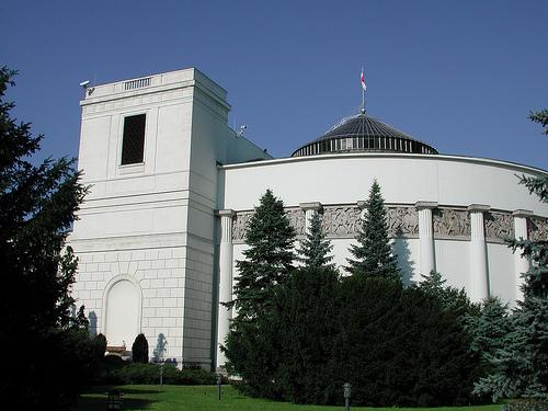 Sejm, źródło: Flickr.com, Fot. Radio Nederland Wereldomroep's photostream: licencja Creative Commons Attribution-NoDerivs 2.0 Generic (CC BY-ND 2.0)