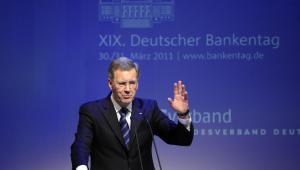 Christian Wulff, prezydent Niemiec. Fot. Michele Tantussi/Bloomberg