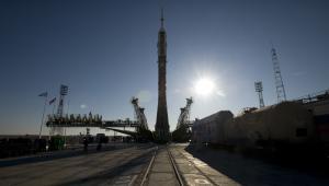 Kosmodrom Bajkonur w Kazachstanie