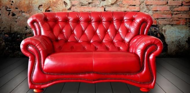 Pikowana sofa