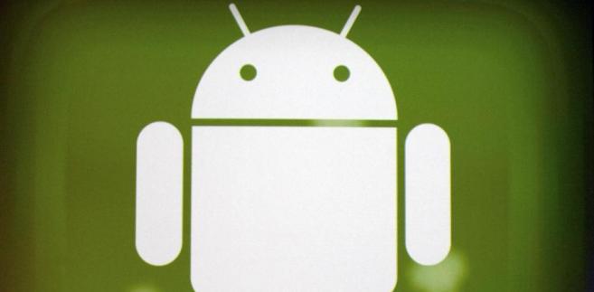 Logo Google Android. Fot. David Paul Morris/Bloomberg