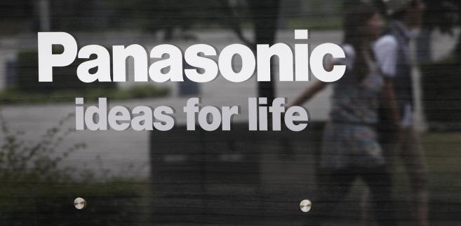 Logo Panasonic. Fot. Kiyoshi Ota/Bloomberg