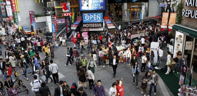 Ulica Myeongdong w południowokoreańskim Seulu z ceną ponad 4 tys. euro za metr znalazła się na ósmym miejscu na liście