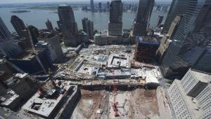 Strefa zero w Nowym Jorku 25 maja 2010 r., fot. Nova/Port Authority of NY & NJ via Bloomberg