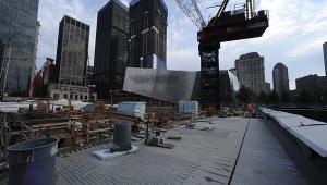 Budowa Muzeum 9/11 w strefie zero w Nowym Jorku, sierpień 2011 fot. Paul Goguen/Bloomberg