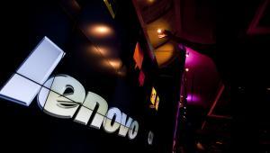 Logo Lenovo. Fot. Andrew Harrer/Bloomberg