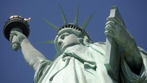 Statua Wolności, fot. Andrew Harrer/Bloomberg News