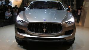 Koncepcyjny SUV Maserati Kubang