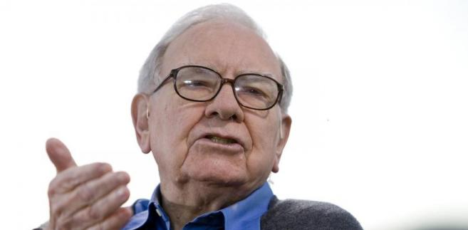 Warren Buffett. Fot. Scott Eells/Bloomberg