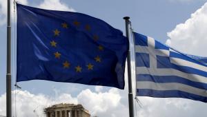 Grecja i Unia Europejska, fot. Kostas Tsironis/Bloomberg