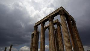 Ruiny na Akropolu, fot. Kostas Tsironis/Bloomberg