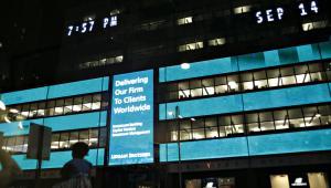 Siedziba Lehman Brothers, wrzesień 2008 roku
