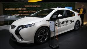 Samochód elektryczny Opel Ampera, Frankfurt Motor Show 2011