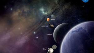 Dokąd zawiezie ludzi planowana rakieta SLS, źródło NASA