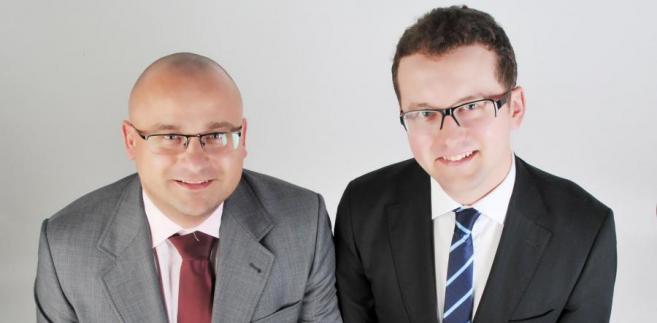 Paweł Moszczyński i Grzegorz Kurowski