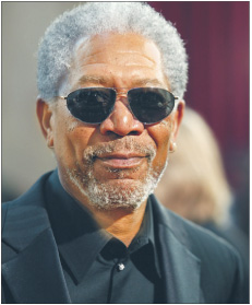 Morgan Freeman Fot. Bloomberg