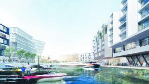 Nowa zabudowa w Porcie Praskim może na trwałe zmienić sposób postrzegania jednej z najmniej popularnych dzielnic miasta Fot. Materiały prasowe