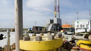 Gaz łupkowy, Pińczów – Odwiert gazu łupkowego Chopin-1 prowadzony przez San Leon Energy Plcs (4)