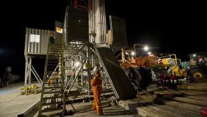 Gaz łupkowy, Pińczów – Odwiert gazu łupkowego Chopin-1 prowadzony przez San Leon Energy Plcs (10)