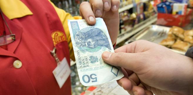 Zakupy, fot. John Guillemin/Bloomberg