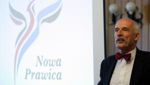 Janusz Korwin-Mikke. Fot. Bartek Wutke/Newspix.pl