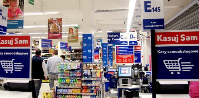 Samoobsługowy sklep Tesco został otwarty w 2013 roku fot. Materiały prasowe