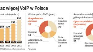 Coraz więcej VoIP w Polsce