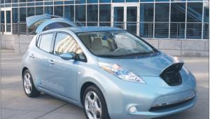 Zapisy na Nissana Leaf ruszą jesienią przyszłego roku Fot. materiały prasowe