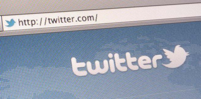 Logo Twittera. Fot. Scott Eells/Bloomberg