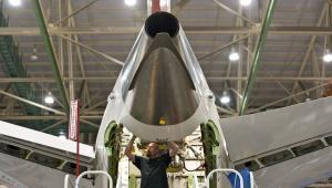 Fabryka Boeinga w Everet w stanie Waszyngton, montaż samolotów Boeing 787 Dreamliner