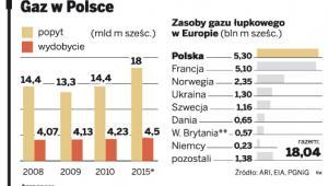 Gaz w Polsce