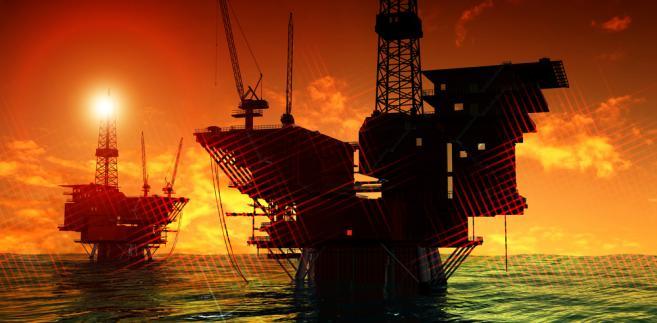 Produkcja ropy morzu