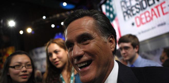 Mitt Romney, były gubernator stanu Massachusetts